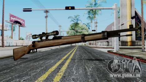 Kar98k Scope from Battlefield 1942 pour GTA San Andreas