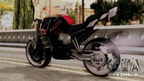 Byson Street Fighter für GTA San Andreas linke Ansicht