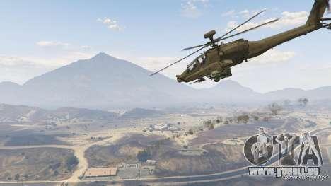 GTA 5 AH-64D Longbow Apache achten Screenshot