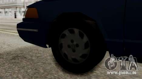Ford Crown Victoria LP v2 Civil pour GTA San Andreas sur la vue arrière gauche