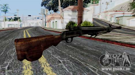 DP LMG from Battlefield 1942 für GTA San Andreas zweiten Screenshot