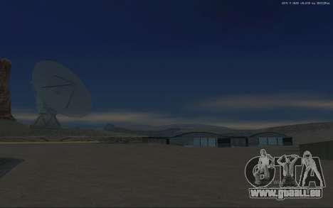Nouvelle Base Militaire v1.0 pour GTA San Andreas onzième écran