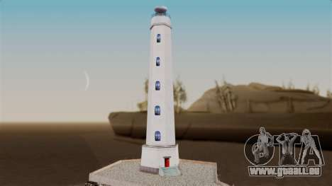 LS Santa Maria Lighthouse für GTA San Andreas