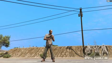 GTA 5 P-90 из Battlefield 4 zweite Screenshot