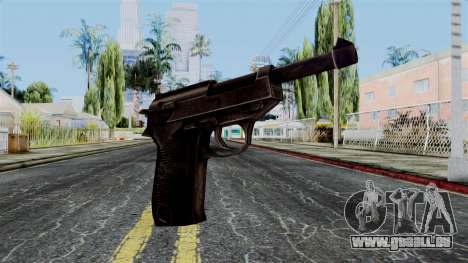 Walther P38 from Battlefield 1942 für GTA San Andreas