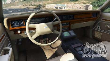 Ford LTD Crown Victoria 1987 LSPD für GTA 5