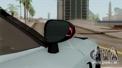 Koenigsegg Agera R 2014 für GTA San Andreas obere Ansicht