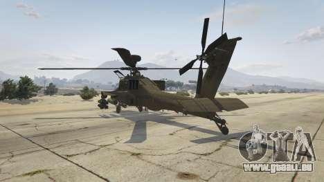 GTA 5 AH-64D Longbow Apache dritten Screenshot