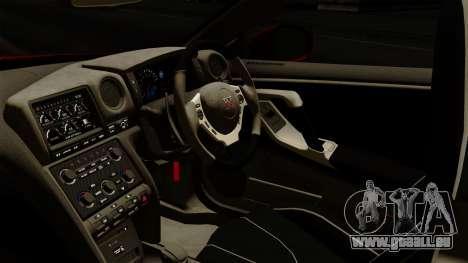 Nissan GT-R Liberty Walk Performance für GTA San Andreas rechten Ansicht
