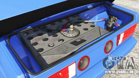 GTA 5 BMW M3 (E30) 1991 vorne rechts Seitenansicht