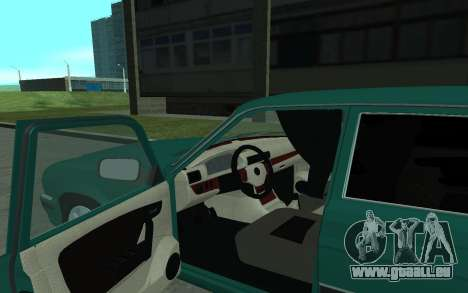 GAZ 31105 Volga für GTA San Andreas Rückansicht