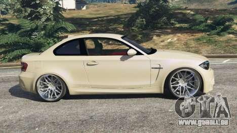 GTA 5 BMW 1M v1.1 linke Seitenansicht