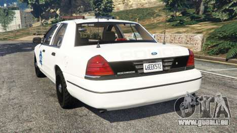 Ford Crown Victoria 1999 Police v0.9 pour GTA 5
