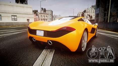 GTA V Progen T20 pour GTA 4 Vue arrière de la gauche