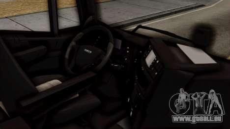 Volvo Truck from ETS 2 pour GTA San Andreas vue de droite