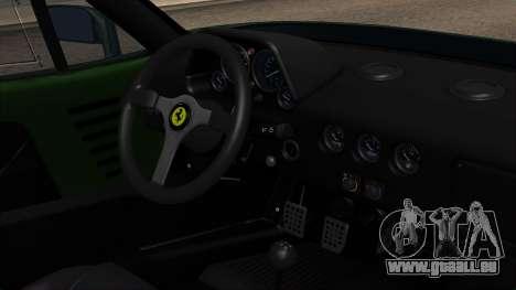 Ferrari F40 1987 with Up without Bonnet IVF pour GTA San Andreas vue de droite