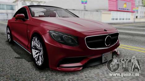 Brabus 850 für GTA San Andreas Innenansicht