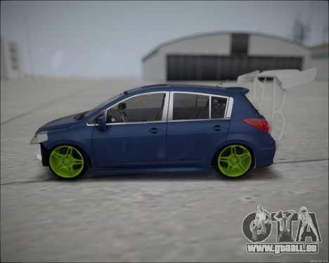 Nissan Tiida Drift Korch pour GTA San Andreas laissé vue