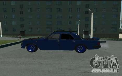 GAZ 3110 Volga pour GTA San Andreas laissé vue