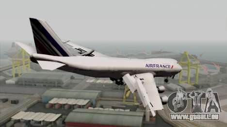 Boeing 747-200 Air France pour GTA San Andreas laissé vue