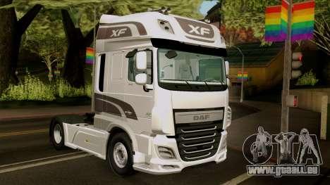 DAF XF Euro 6 SSC für GTA San Andreas