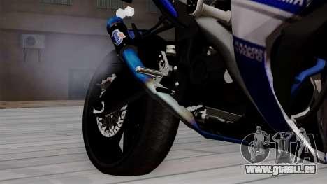 Yamaha YZF R-25 GP Edition 2014 für GTA San Andreas rechten Ansicht