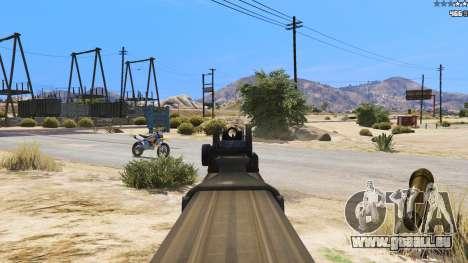 GTA 5 P-90 из Battlefield 4 sechster Screenshot