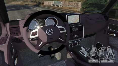 GTA 5 Mercedes-Benz G65 AMG v0.1 [Alpha] rechte Seitenansicht