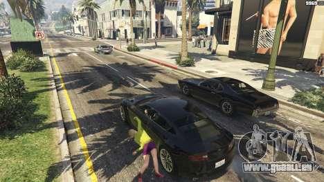 GTA 5 GrabScript V deuxième capture d'écran
