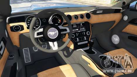 GTA 5 Ford Mustang GT 2015 volant