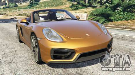Porsche Boxster GTS pour GTA 5