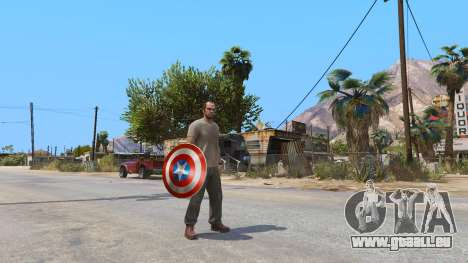 GTA 5 Schild Captain America