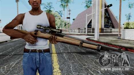 Kar98k Scope from Battlefield 1942 für GTA San Andreas dritten Screenshot