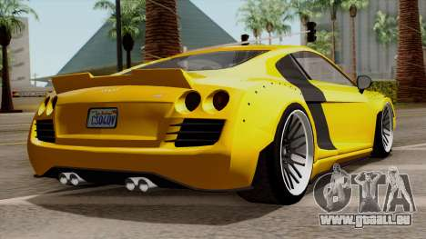 Obey 9F Liberty Works v1.0 für GTA San Andreas linke Ansicht