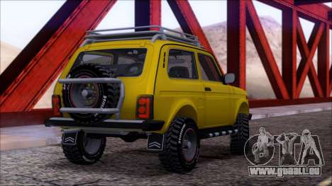 VAZ Niva 2121 Offroad pour GTA San Andreas moteur