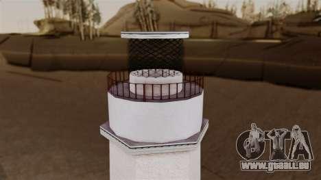 LS Santa Maria Lighthouse pour GTA San Andreas quatrième écran