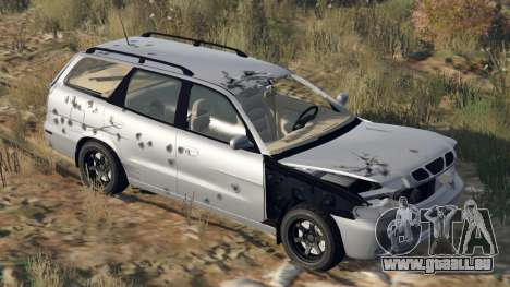 GTA 5 Daewoo Nubira ich Wagen UNS 1999 - FINAL version Lenkrad