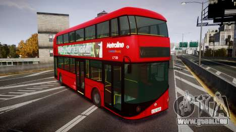 Wrightbus New Routemaster Metroline pour GTA 4