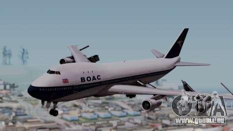 Boeing 747-100 British Overseas Airways für GTA San Andreas