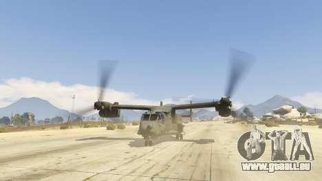 GTA 5 CV-22B Osprey (VTOL) fünfter Screenshot