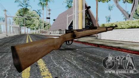 Kar98k from Battlefield 1942 für GTA San Andreas zweiten Screenshot