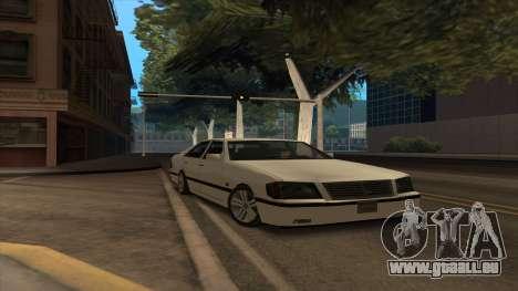 Mercedes Benz W140 S600 für GTA San Andreas