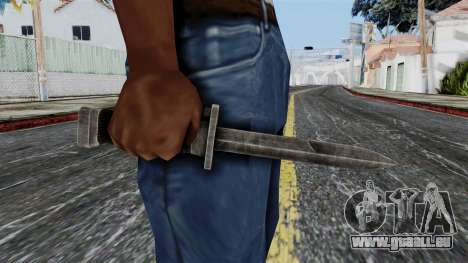 Allied Knife from Battlefield 1942 für GTA San Andreas dritten Screenshot
