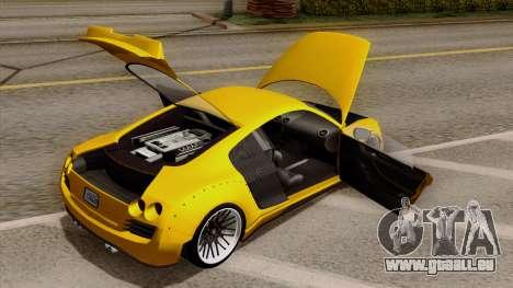 Obey 9F Liberty Works v1.0 pour GTA San Andreas vue arrière