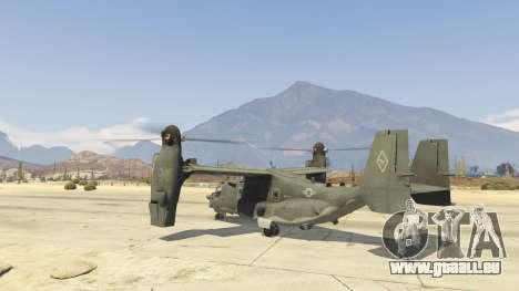 GTA 5 CV-22B Osprey (VTOL) zweite Screenshot