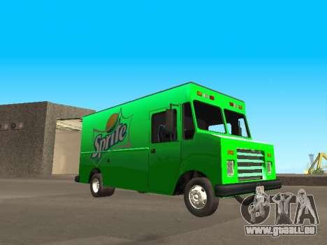 Boxville Sprite für GTA San Andreas