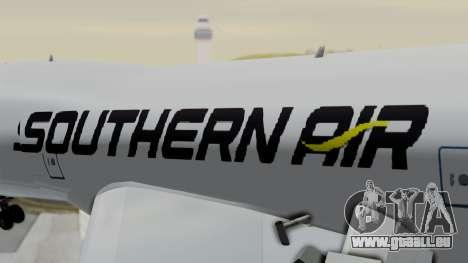 Boeing 747 Southern Air pour GTA San Andreas vue arrière