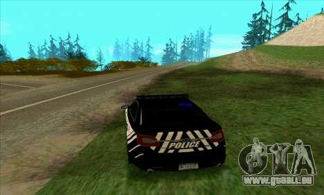 Federal Police Ford Taurus HSO für GTA San Andreas zurück linke Ansicht