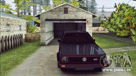 Volkswagen Golf Mk2 Line für GTA San Andreas linke Ansicht