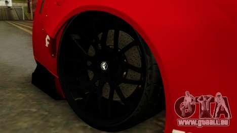 Nissan GT-R Liberty Walk Performance für GTA San Andreas zurück linke Ansicht